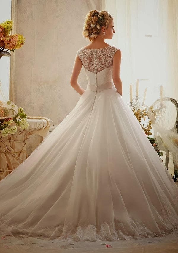 Describing mori lee wedding dresses as quot breath taking quot is a total