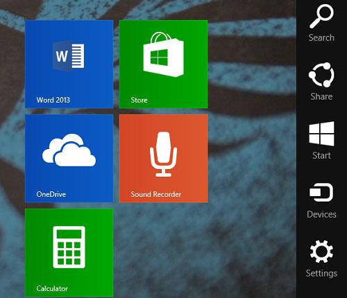 Để tìm kiếm tốt hơn và nhanh hơn trên Windows 8.1 2