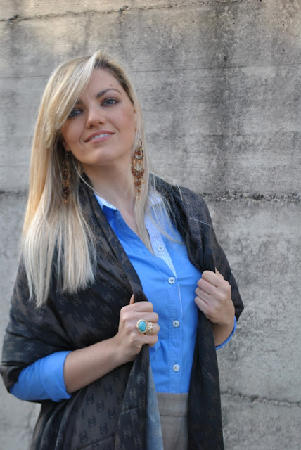 anello majique majique london ring anello sl sciarpa logo chanel sciarpa fattori blonde girl blonde hair blondie outfit casual invernali outfit da giorno invernale outfit gennaio 2016 january  outfit january 2016 outfits casual winter outfit mariafelicia magno fashion blogger colorblock by felym fashion blog italiani fashion blogger italiane blog di moda blogger italiane di moda fashion blogger bergamo fashion blogger milano fashion bloggers italy italian fashion bloggers influencer italiane italian influencer