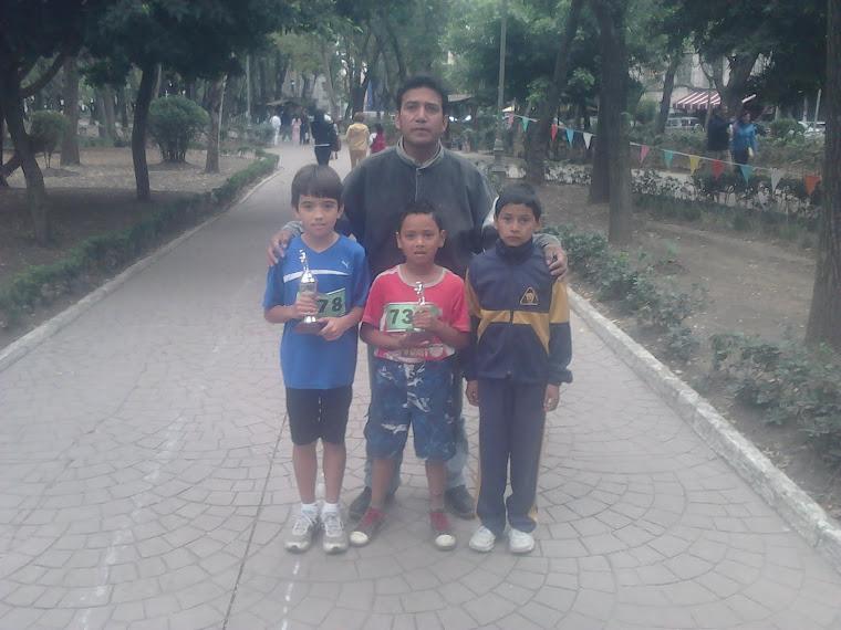 PARQUE MEXICO CARRERA INFANTIL 2 DE OCTUBRE