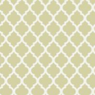 beige quatrefoil paper