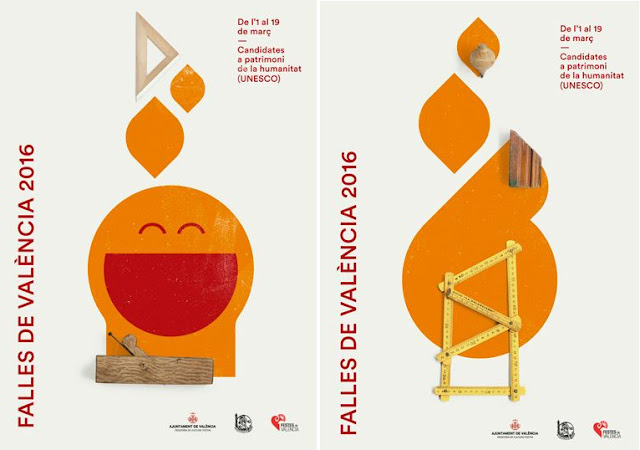 Carteles oficiales de las Fallas de Valencia 2016