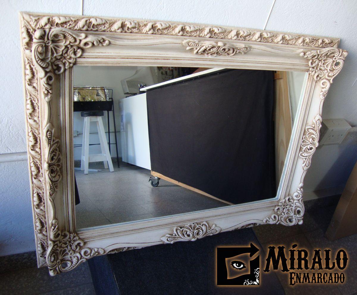 Restauración de marco antiguo y conversión a espejo