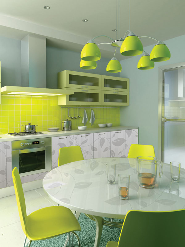 decorando cores para cozinha