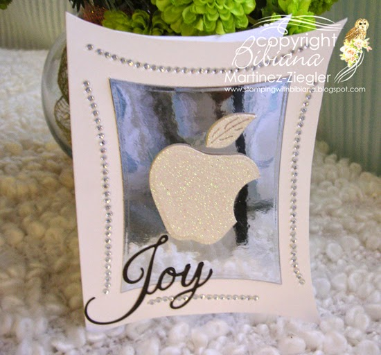 apple front greeting card