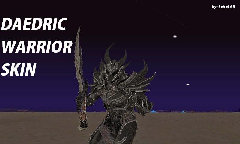 daedric armor mod
