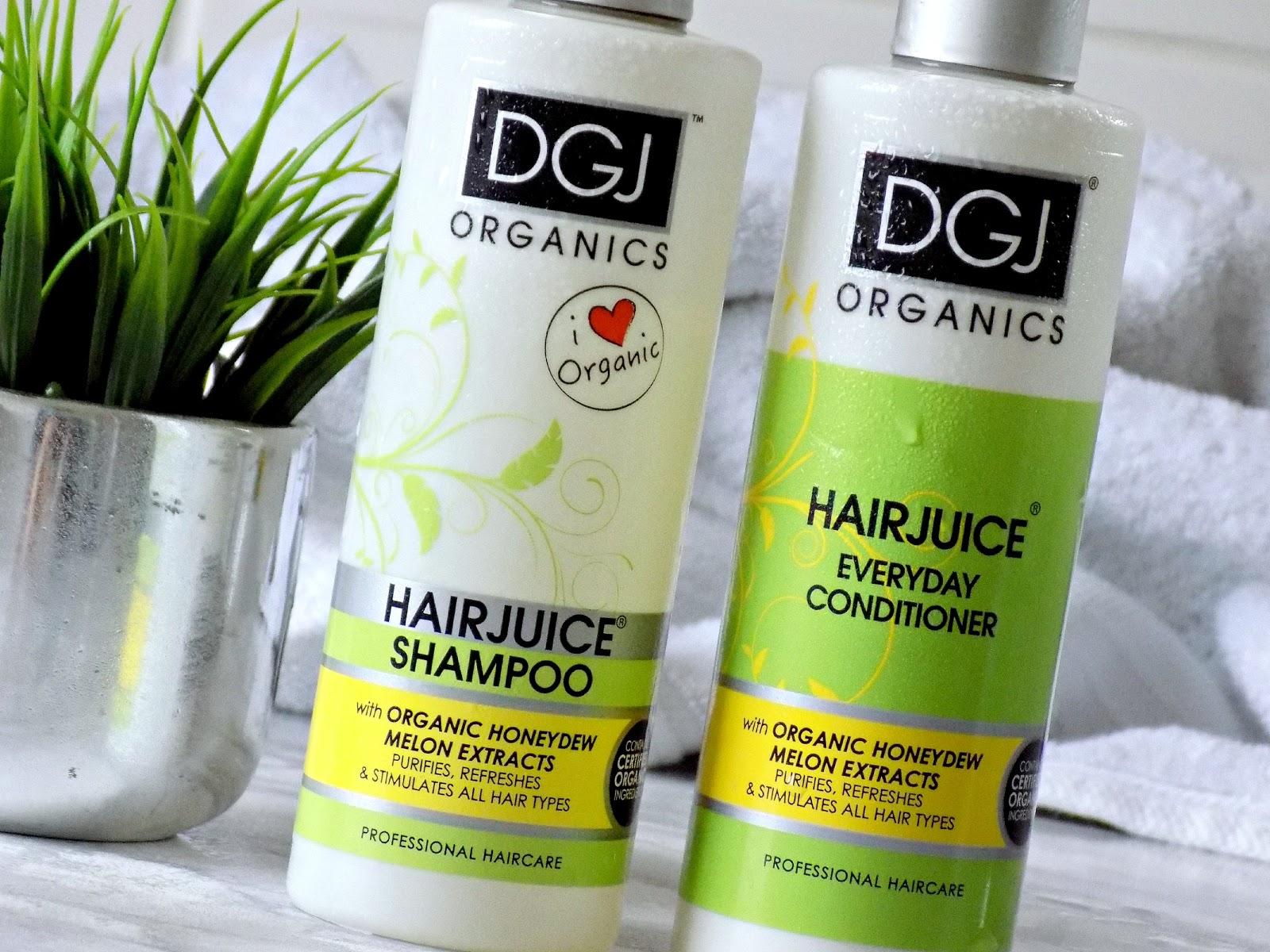 Makeup Revolution DGJ Organics shampoo