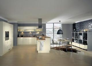 Cream Kitchen Cabinets Design