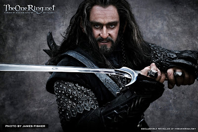 Thorin Oakenshield and Orcrist Revealed!