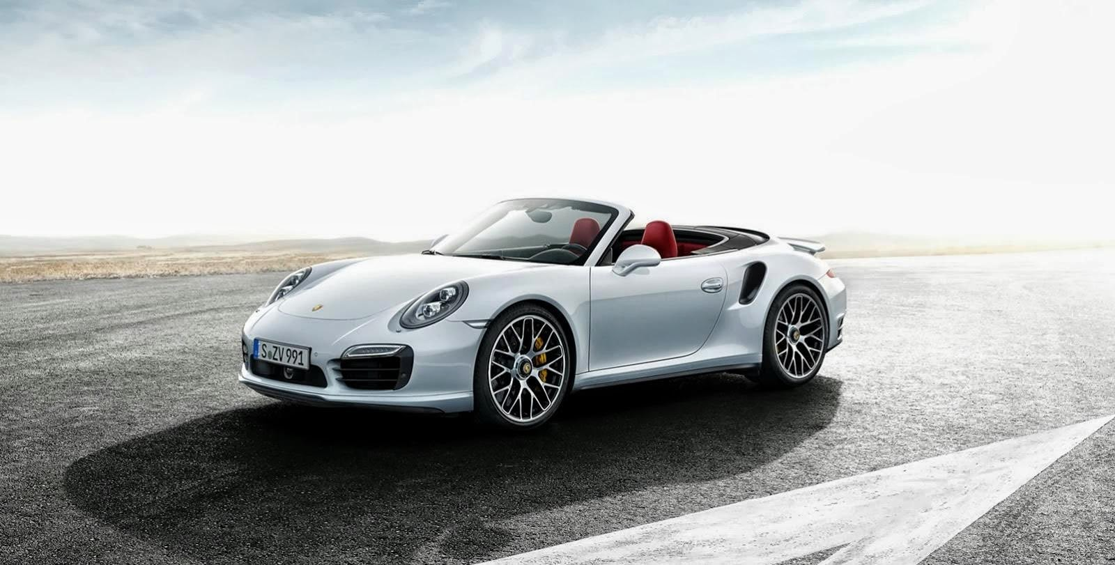 El Porsche 911 Convertible 2014