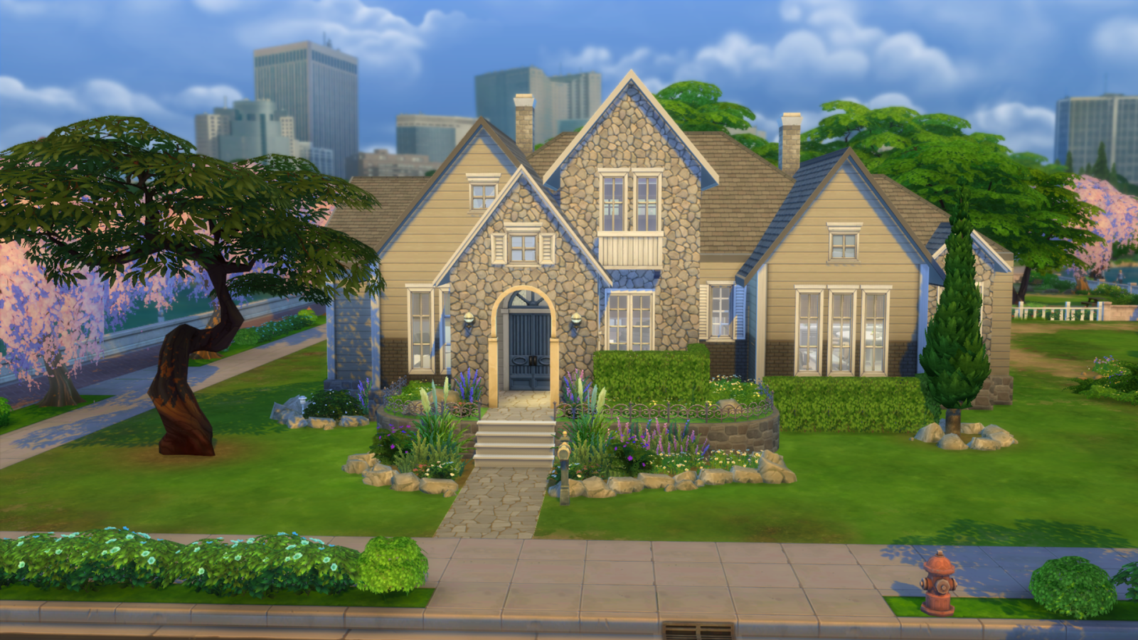 my sims 4 blog legacy family home by ruth kay. Black Bedroom Furniture Sets. Home Design Ideas