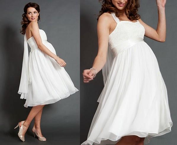 Casual Maternity Wedding Dresses