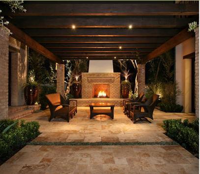 Fotos de terrazas terrazas y jardines terraza de casas - Chimeneas para terrazas ...