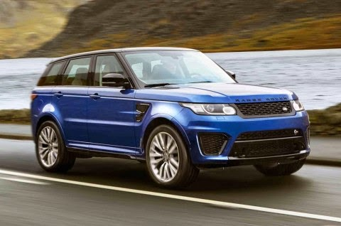 Autocar:New 542bhp Range Rover Sport SVR released