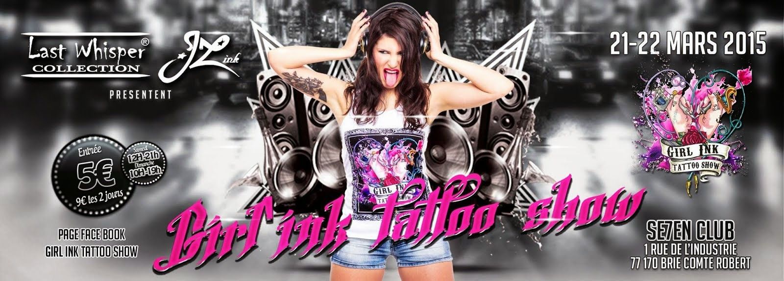 Partenaire du Girl Ink Tattoo Show