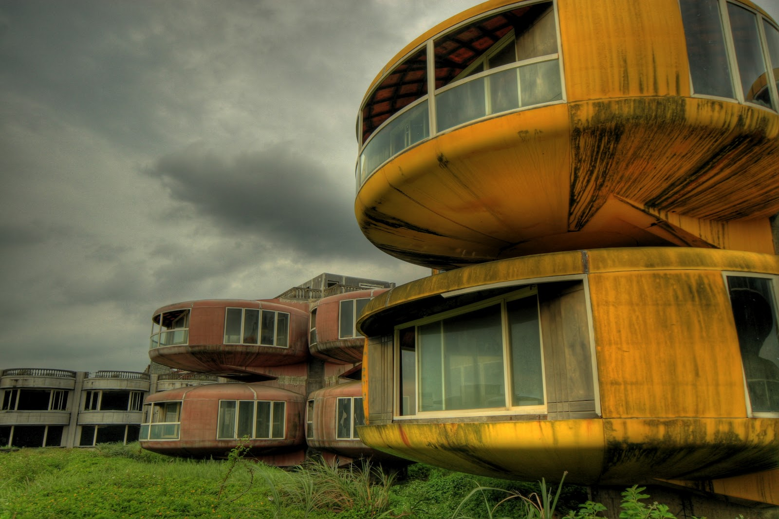 Image result for The Sanzhi UFO Houses