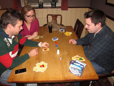 Geistesblitz being played