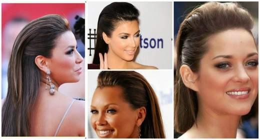 penteados moicanos femininos