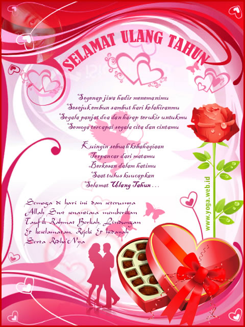 Ucapan selamat ulang tahun untuk pacar, kekasih dan gebetan