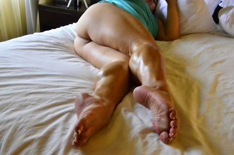 muscle women sex foot