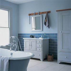 casa de banho rústica bonita