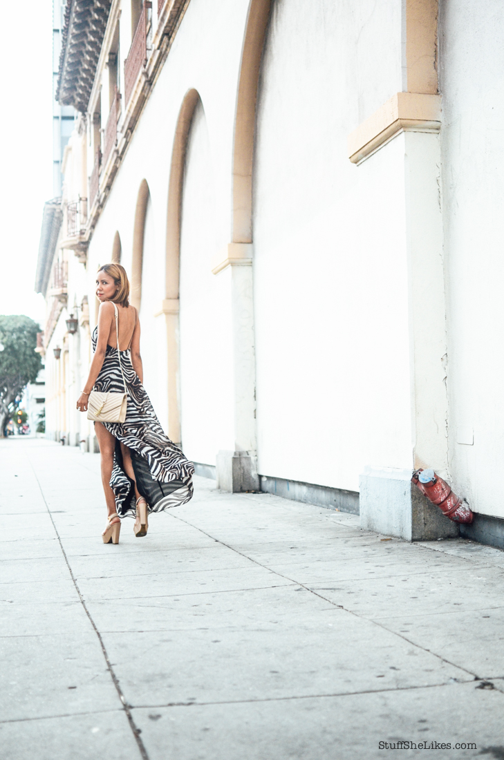 Guess, maxi dress, printed maxi dress, guess platform sandals, Blogger, fashion blogger, top ten fashion bloggers, best fashion blogger, los angeles fashion blogger, Blonde blogger, ethnic blogger