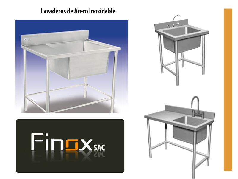 Lavaderos de acero inoxidable estructuras metalicas en for Lavadero acero inox