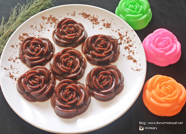 resep puding cokelat