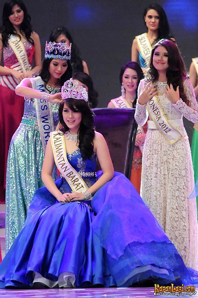 Miss World Indonesia 2013 winner Vania Larissa