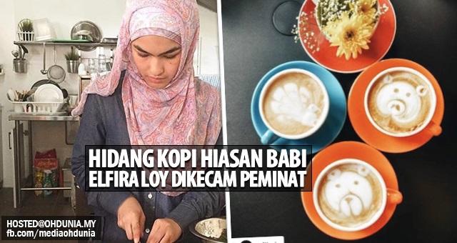 Gara-Gara Hidang 'Kopi Hiasan Babi', Elfira Loy Dikecam Peminat!..