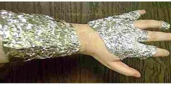tratamiento para muchas enfermedades - El asombroso poder del papel de aluminio.