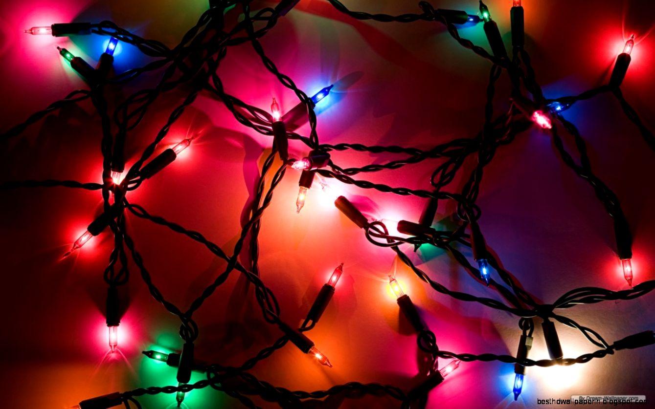 desktop christmas lights best hd wallpapers