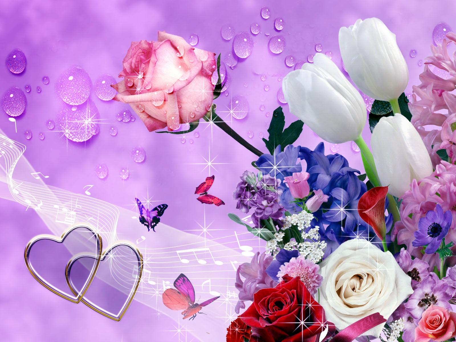 Imagini cu flori desktop