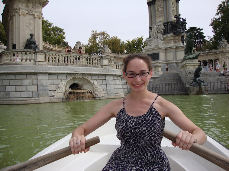 Rowing at the Retiro