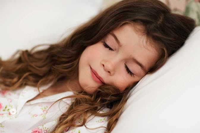 Seorang anak kecil tidur. Sumber Google