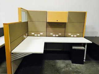 Office cubicles, Herman Miller Ethospace