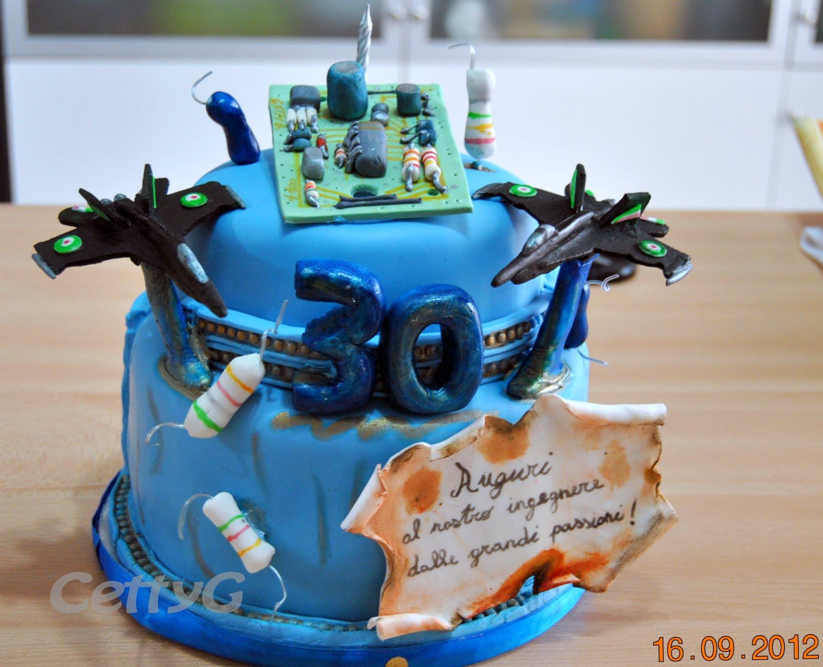 Le torte decorate di cetty g aerei e circuiti elettronici for Piani di fattoria di un livello