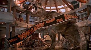 T-Rex in the hotel