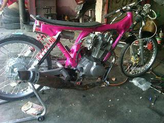 modifikasi  Honda CB100cc