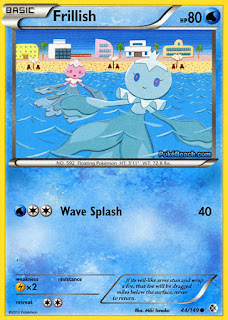 Frillish Boundaries Crossed Pokemon Card