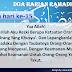 Doa Harian Bulan Ramadhan | Doa Hari Ke-15