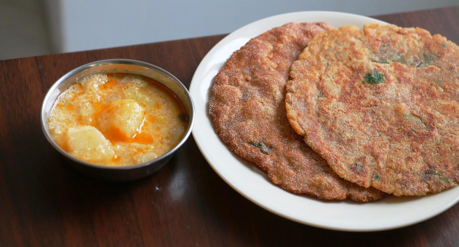 Image result for राजगीरा पुरी और दहीवाले आलू की सब्ज़ी