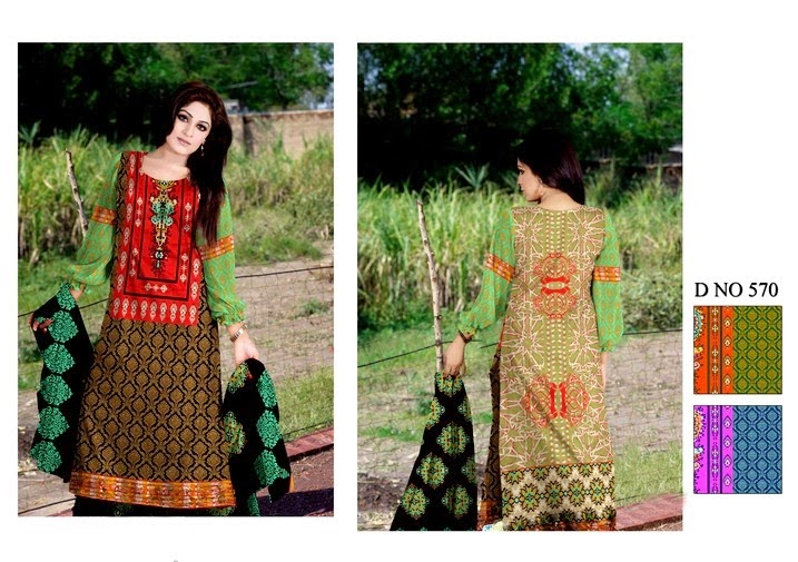 Classic Soughat Lawn Collection 2014