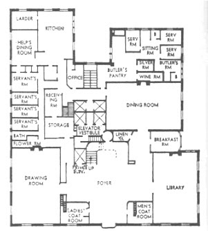 Real Estate Agent Property 1107 Fifth Avenue Floor Plan