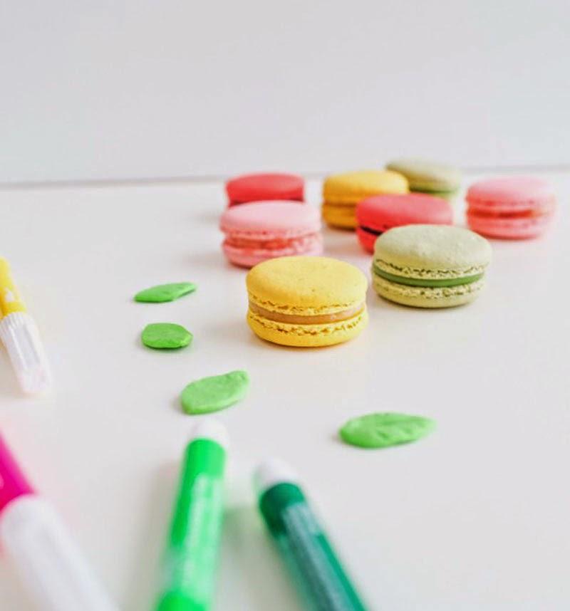 decoración de galletas con rotuladores comestibles