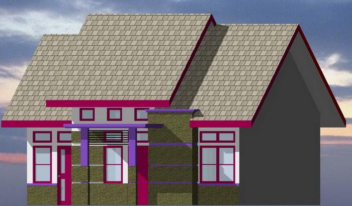 contoh rumah minimalis type 80 tampak depan rumahminimalis