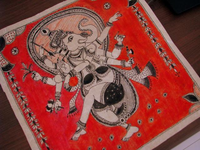 Madubani - Kalamkari Painting