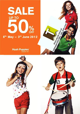 Hush Puppies Apparels Sale 2012