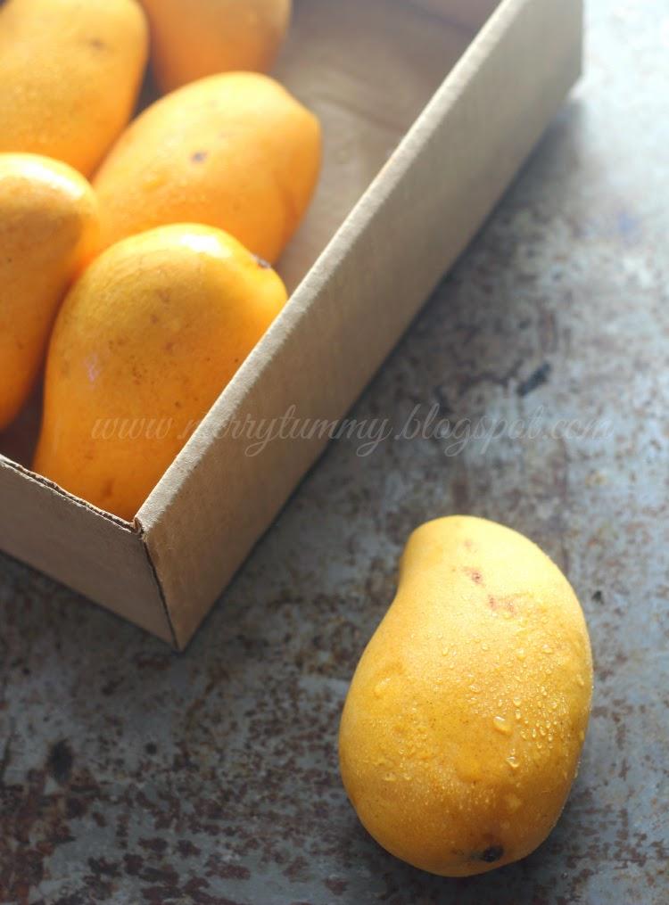 Merry Tummy: Mango Lassi: Aam Ki Lassi: Restaurant Style