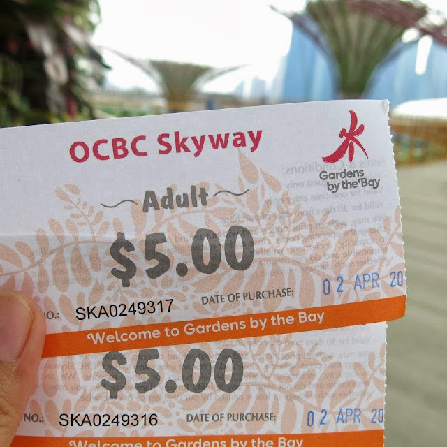 Gardens by the bay OCBC skyway